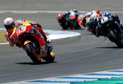 MotoGPde son şampiyon Marquez sezonu kapattı