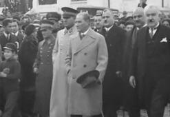 Atatürkün ilk kez yayınlanan görüntüleri, türküyle paylaşıldı