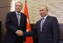 Son dakika... Cumhurbaşkanı Erdoğan, Putin ile görüştü