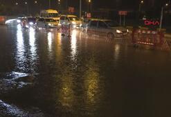 Trabzonda sağanak etkili oldu