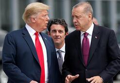 Son dakika: Cumhurbaşkanı Erdoğandan Donald Trumpa teşekkür mesajı