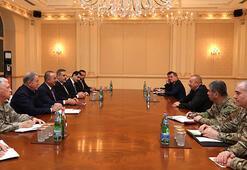 Son dakika... Türkiyeden İlham Aliyev'e tebrik ziyareti
