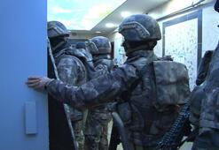 İstanbul'da uyuşturucu tacirlerine şafak operasyonu düzenlendi