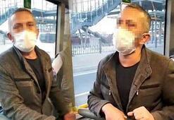 Otobüste rezalet Kendini böyle savundu: İki taraflı zannetim