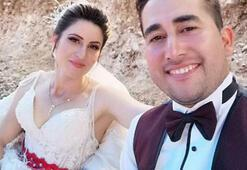 5 aylık evlilerdi Feci son