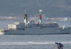 Romanya savaş gemisi, Çanakkale Boğazından geçti