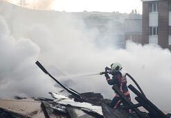 Ankara Sitelerdeki yangınkontrol altına alındı