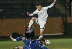 Bursasporda gol var sonuç yok