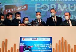 Borsa İstanbul'da Formula 1 için gong çaldı