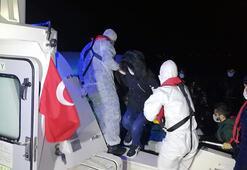 Muğla'da 24 göçmen kurtarıldı