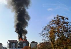 Ankarada korkutan yangın
