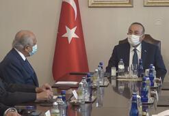 Çavuşoğlu, ABDnin Afganistan Özel Temsilcisi Halilzadı kabul etti