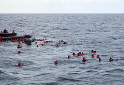 Son dakika... Libya açıklarında facia En az 74 mülteci boğularak öldü