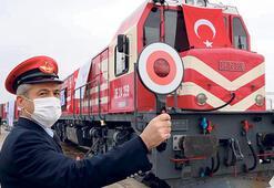 Gökyüzüne yerli uydu, Nahçıvan'a tren yolu