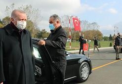 Cumhurbaşkanı Erdoğan, cuma namazını Tekirdağda kıldı