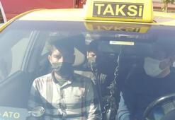 TEM'de durdurulan ticari taksiden düzensiz göçmenler çıktı
