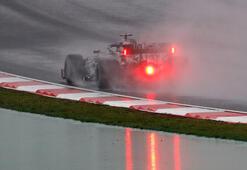 Son dakika | Formula 1 Türkiye GPsinde pole poziyonu Racing Pointin pilotu Lance Strollun