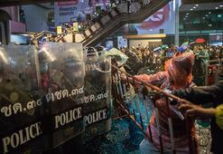 Taylandda hükümet karşıtı protestolar sürüyor