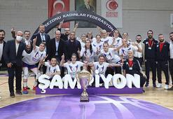 Basketbolda Kadınlar Federasyon Kupasını Emlak Konut kazandı