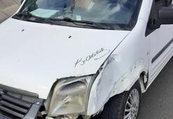 Keşanda trafik kazası: 1 yaralı