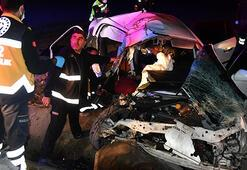 Canlı yayın yaparken korkunç kazayı görüntüledi