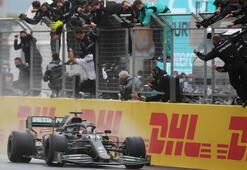 Son dakika | Formula 1de Türkiye Grand Prixsini kazanan Lewis Hamilton Dünya Şampiyonu