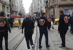 Ekipler Taksim'de sigara kuralına uymayanlara göz açtırmadı