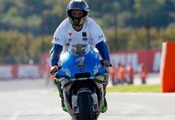 MotoGPde şampiyon Joan Mir