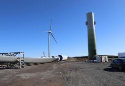 Orduda Akkuş rüzgar enerji santralinin yapımı devam ediyor