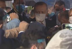 Cumhurbaşkanı Erdoğan ile MHP Genel Başkanı Bahçeli KKTC'de Maraş'ı ziyaret etti