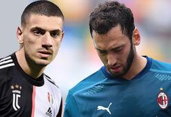 İtalyayı sallayacak takas planı Hakan Çalhanoğlu ve Merih Demiral...
