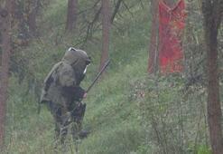 Sarıyerde şüpheli paket alarmı Bomba imha ekipleri geldi