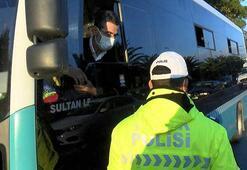 İstanbulda toplu taşıma araçlarına korona denetimi