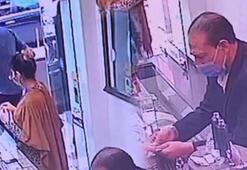 Kuyumcudan hırsızlık yapan İran uyruklu 3 kişi yakalandı