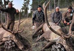 Kızıl geyik avlayan eski başkan: Yasal olmayan hiçbir şey yapmadım