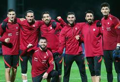 A Milli Futbol Takımında Macaristan hazırlığı