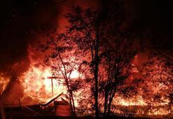 Tunceli'de kafede çıkan yangın korkuttu