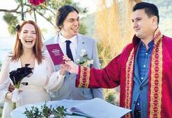Aylin Aslım ile Utku Vargı evlendi