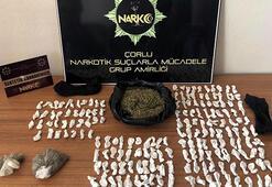 Uyuşturucular baca deliği ve çamaşır makinesinde bulundu