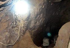 Alaşehirde evin altında kaçak kazı yapan 7 kişiye suçüstü