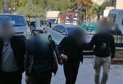 Hırsızlar mobese kameralarından yakalandı