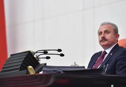 TBMM Başkanı Şentoptan Azerbaycan tezkeresi mesajı