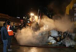 Anadolu Otoyolunda korkutan yangın Küle döndü