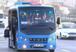 İstanbulda toplu taşıma araçları tıklım tıklım