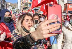 Hakkarili kadınlardan PKKya lanet yürüyüşü