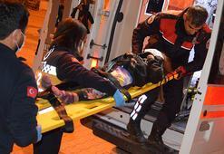 Antalyada vinçten düşen çocuk yaralandı