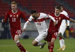 Son Dakika | A Milli Takım, Macaristana 1-0 mağlup oldu