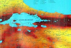 Son dakika... Olası Marmara depremi için bölgeyi açıkladı, orayı işaret etti