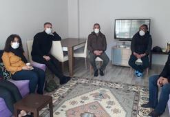 HDPli milletvekilinden, öldürülen PKKlı teröristin ailesine taziye ziyareti