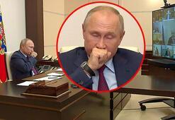 Son dakika: Öksürük krizine girdi Kremlinden Putinin sağlık durumuyla ilgili açıklama